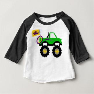 Monster truck del carnaval camiseta de bebé