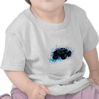 Monster truck V2 de los niños Camisetas