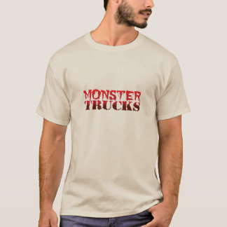 Monsteres truck - camiseta básica