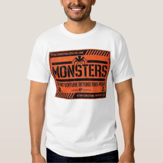 MONSTERS CAMISAS