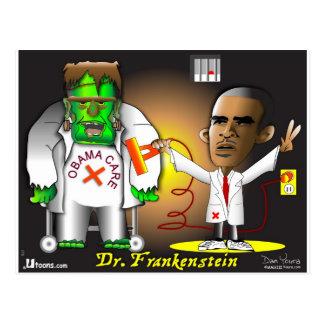 Monstruo de Frankenstein Tarjetas Postales