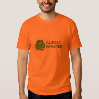 Monstruo de la abrazo camiseta