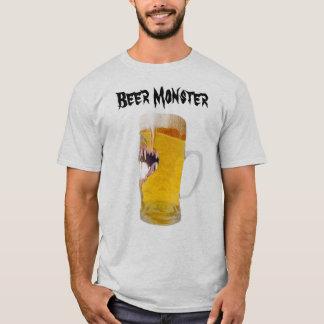 Monstruo de la cerveza, camiseta para hombre de la