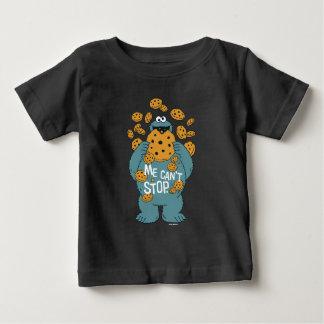 Monstruo de la galleta del Sesame Street el | - no Camiseta De Bebé