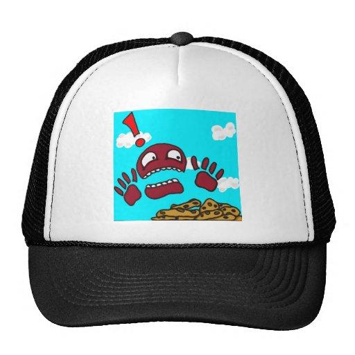 Monstruo de la galleta gorras de camionero