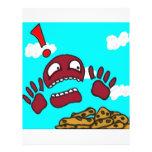 Monstruo de la galleta tarjetas informativas