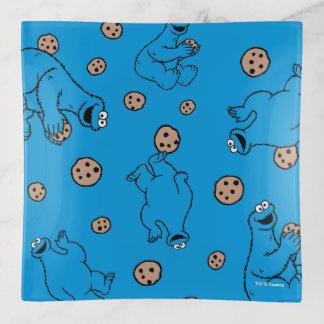 Monstruo de la galleta y modelo del azul de las