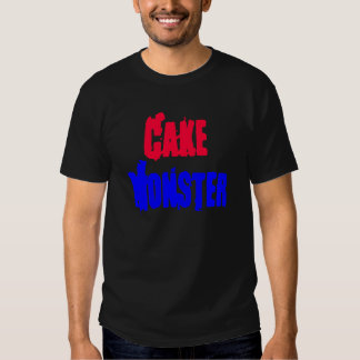 Monstruo de la torta camisetas