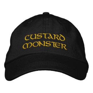 Monstruo de las natillas gorra bordada