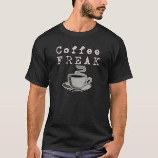 Monstruo del café (camisetas oscuro) camiseta