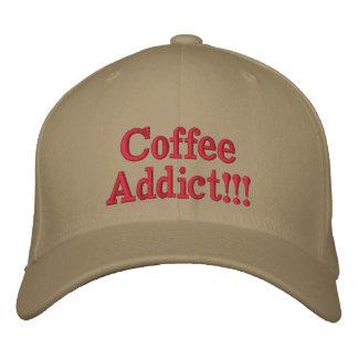 Monstruo del café gorra de béisbol bordada