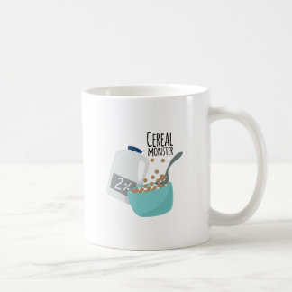 Monstruo del cereal tazas de café
