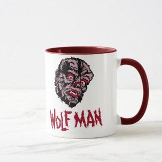 Monstruo del vintage - taza del hombre del lobo