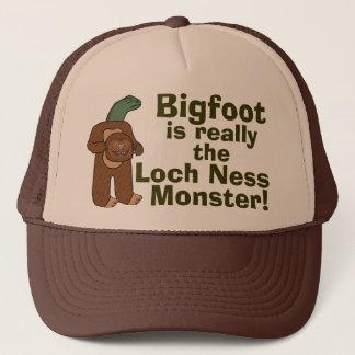 Monstruo divertido de Bigfoot Loch Ness Gorra De Camionero