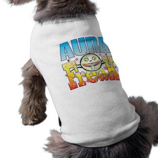 Monstruo extraño de la aureola camiseta sin mangas para perro