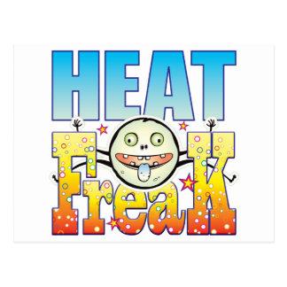 Monstruo extraño del calor postal