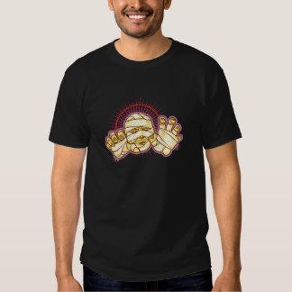 Monstruo extremo de la momia camisetas