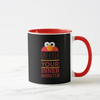 Monstruo interno de Elmo Taza