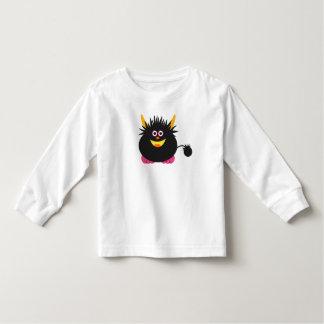 Monstruo lindo camiseta de bebé