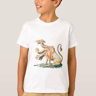 Monstruo satánico Tres-Dirigido Camiseta