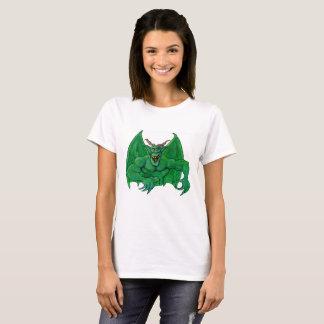 Monstruo verde camiseta