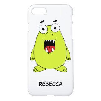 Monstruo verde lindo funda para iPhone 7