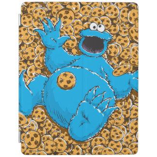 Monstruo y galletas de la galleta del vintage cubierta de iPad