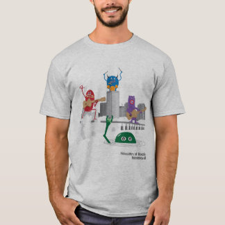 monstruos de la roca camiseta