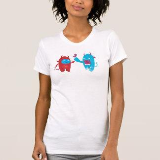monstruos femeninos camiseta