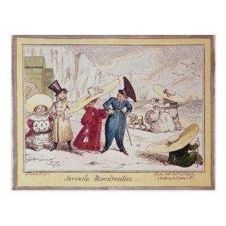 Monstruosidades juveniles, 1825 postal