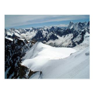 Mont Blanc, postal de Francia