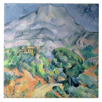 Mont Sainte-Victoire, 1900 Azulejo Cuadrado Grande