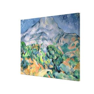 Mont Sainte-Victoire, 1900 Impresiones En Lona