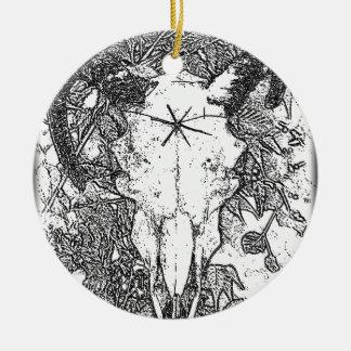 Montado picó bosquejo del lápiz en blanco ornamentos para reyes magos