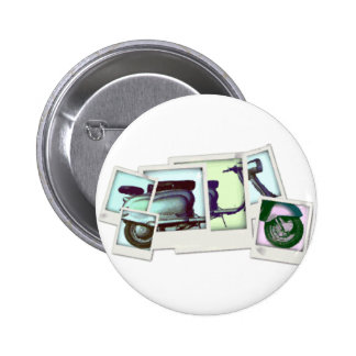 montaje de la foto del lambretta chapa redonda 5 cm