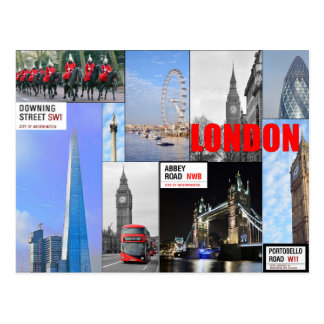 Montaje de Londres Postal