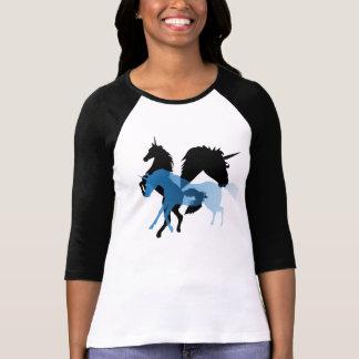 Montaje del unicornio camisetas