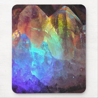 Montaña cristalina alfombrilla de ratón