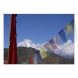 Montaña de Dhaulagiri Tarjeton