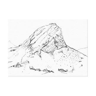 Montaña de la Caída-Klip de Klein, Rooiels. Impresión En Lienzo