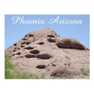 Montaña de la formación de roca de Phoenix Arizona Postal