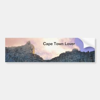 Montaña de la tabla de Cape Town Pegatina Para Coche