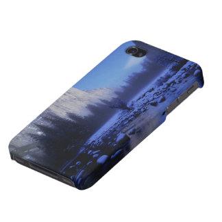 Montaña del EL Capitan, parque nacional de iPhone 4 Cárcasas