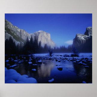 Montaña del EL Capitan, parque nacional de Yosemit Posters