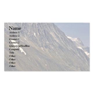 Montaña escarpada desnuda tarjetas de visita