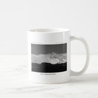 Montaña rocosa de Colorado alta Tazas