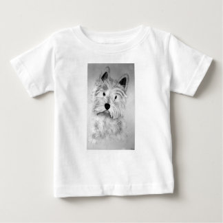 Montaña Terrier blanco del oeste Camiseta De Bebé
