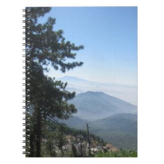 Montaña Vista Libreta