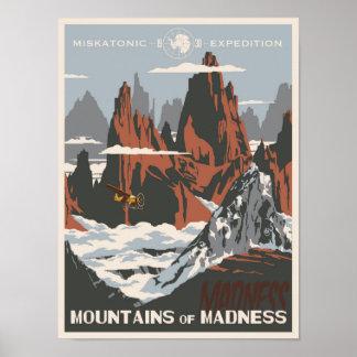 Montañas de la locura póster