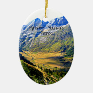 Montañas de los Pirineos, Francia Ornamento De Navidad